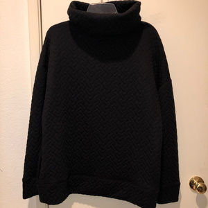 Gap Quilted Turtleneck NWT